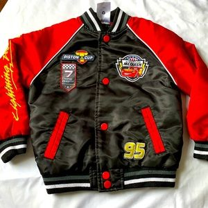 Disney Lightening McQueen jacket sz 3